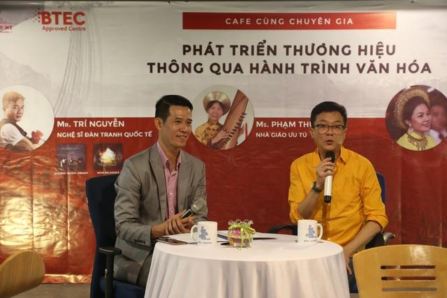 Nghệ sỹ Trí Nguyễn chia sẻ về kinh nghiệm xây dựng thương hiệu với sinh viên
