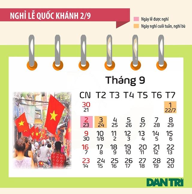 Bộ lịch các ngày Lễ, Tết trong năm 2018 - 5