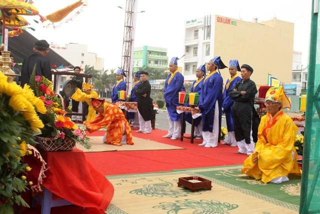 Lễ hội cầu ngư truyền thống vừa diễn ra tại Đà Nẵng ngày 12/2 (nhằm 16 tháng Giêng âm lịch)