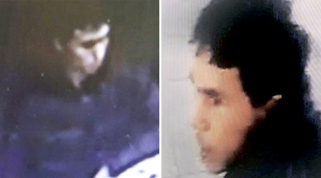 Hình ảnh đầu tiên của nghi phạm xả súng hộp đêm ở Istanbul được lấy ra từ camera an ninh. (Ảnh: AFP)