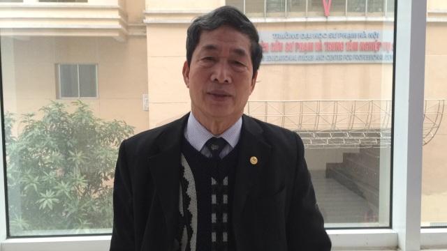 PGS.TS Nghiêm Đình Vỳ, thành viên nhóm biên soạn Chương trình SGK mới môn Lịch sử.