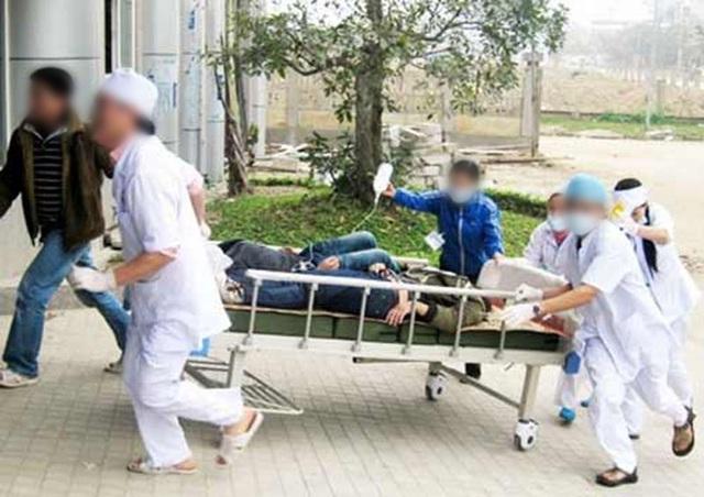 45 người bị ngộ độc vẫn đang được điều trị tích cực. (Ảnh minh họa internet).