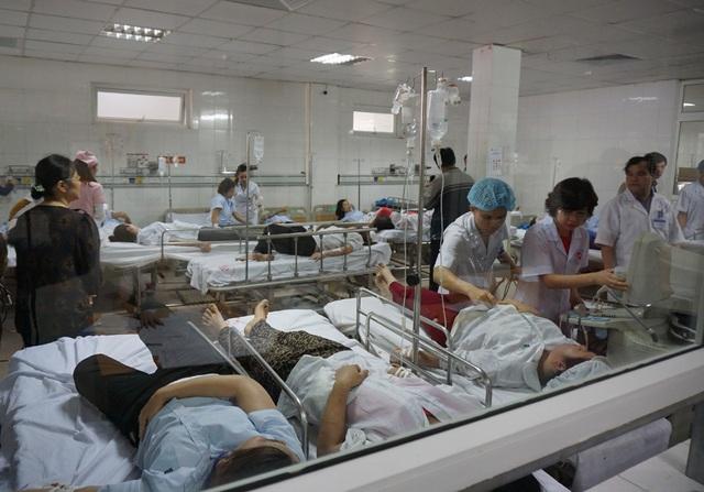 Hơn 50 nữ công nhân đang được chăm sóc, theo dõi tại Bệnh viện