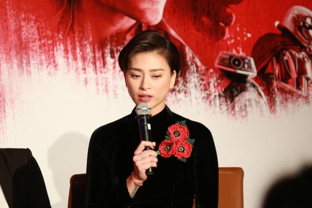 Ngô Thanh Vân khẳng định vai diễn lần này là một trải nghiệm quý giá cho vai trò nhà sản xuất phim tại Việt Nam.