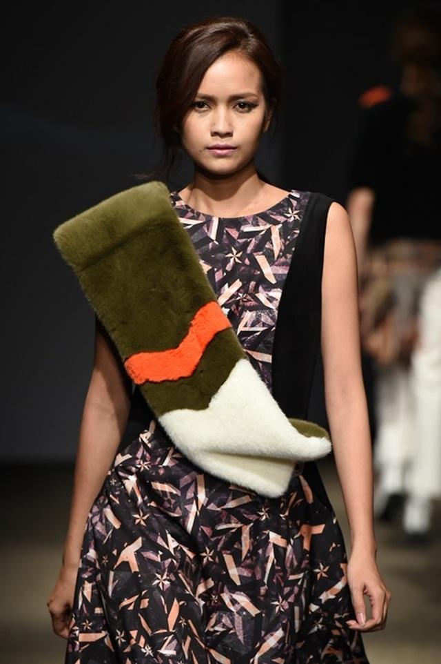 Ngọc Châu tự tin sải bước tại Tuần lễ Thời trang Seoul - Seoul Fashion Week.