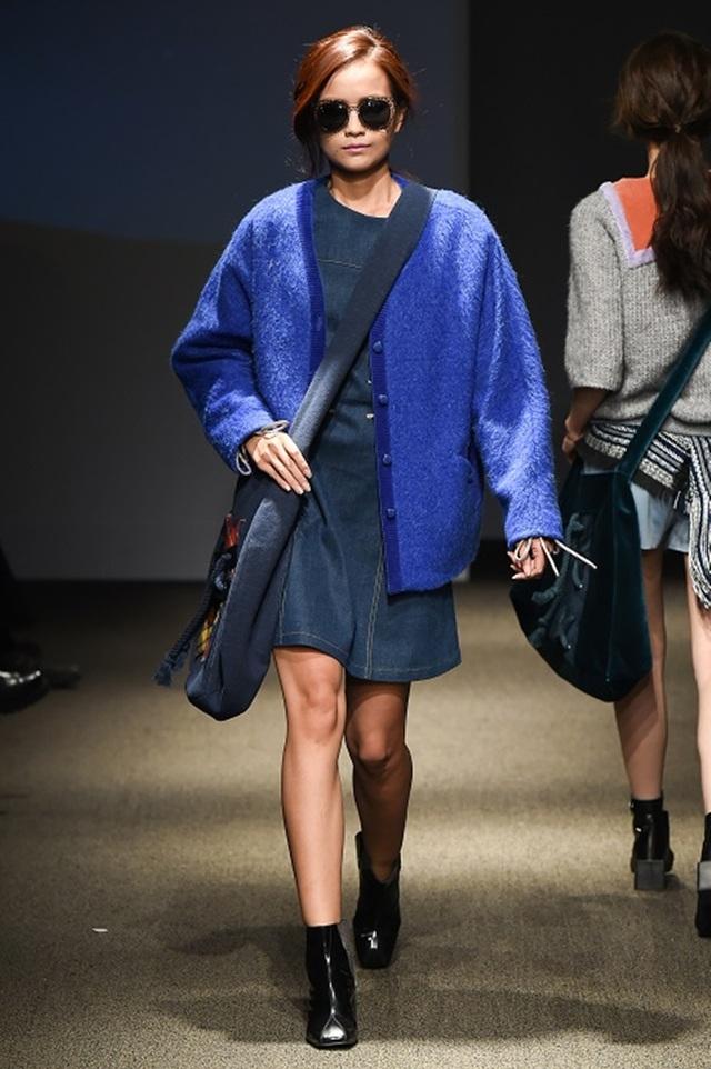 """Quán quân Vietnam's Next Top Model 2016 """"tấn công"""" Seoul Fashion Week - 12"""