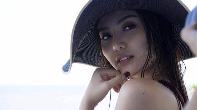 Mới đây, Ngọc Duyên đã có buổi chụp ảnh trong trang phục áo tắm tại bãi biển Vũng Tàu.