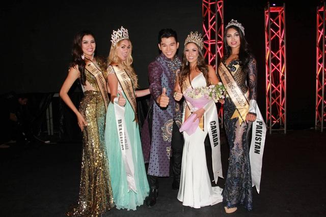Giám khảo Ngọc Tình sung sướng khi Nguyễn Thị Thành đoạt giải Á hậu 3 - 8