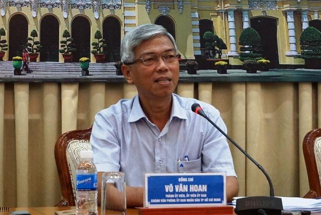 Chánh Văn phòng UBND TPHCM Võ Văn Hoan