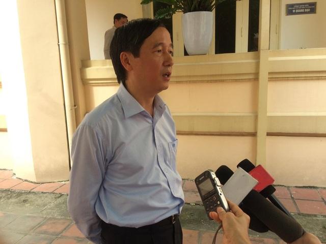 Phó Tổng cục trưởng Tổng cục Thuế - ông Nguyễn Đại Trí