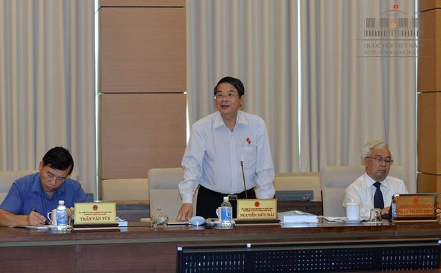 Chủ nhiệm UB Tài chính - Ngân sách Nguyễn Đức Hải lo ngại, với quy mô các đặc khu dự kiến xây dựng, tính lan tỏa sẽ không được như kỳ vọng.