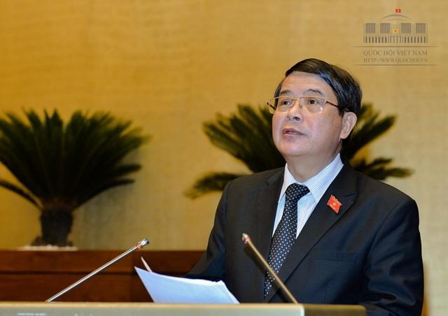Ông Nguyễn Đức Hải đề nghị phải quy định rõ hơn về trách nhiệm tập thể, cá nhân trong quản lý, sử dụng nợ công.
