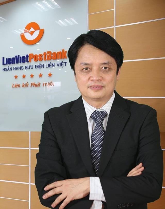 Chủ tịch LienVietPostBank Nguyễn Đức Hưởng