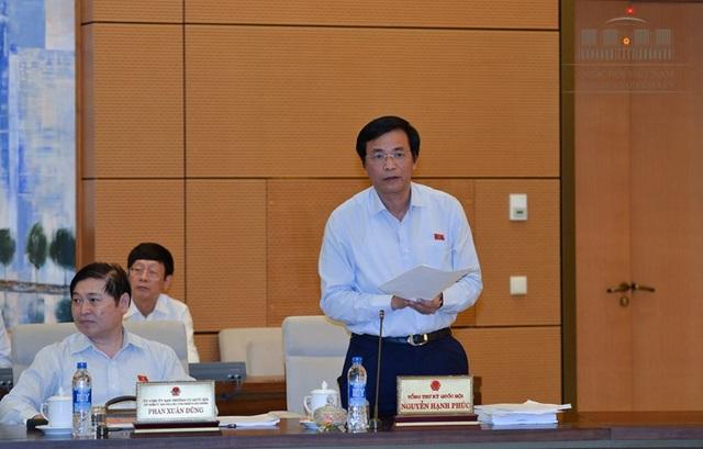 Tổng Thư ký Quốc hội Nguyễn Hạnh Phúc thắc mắc về việc 1 huyện được đề xuất phân bổ liền 8 dự án, tổng vốn tới hàng trăm tỷ đồng