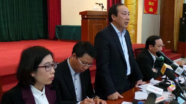 Ông Nguyễn Hồng Trường mong các doanh nghiệp thông cảm trong quá trình điều chuyển luồng tuyến gặp phải những khó khăn nhất định