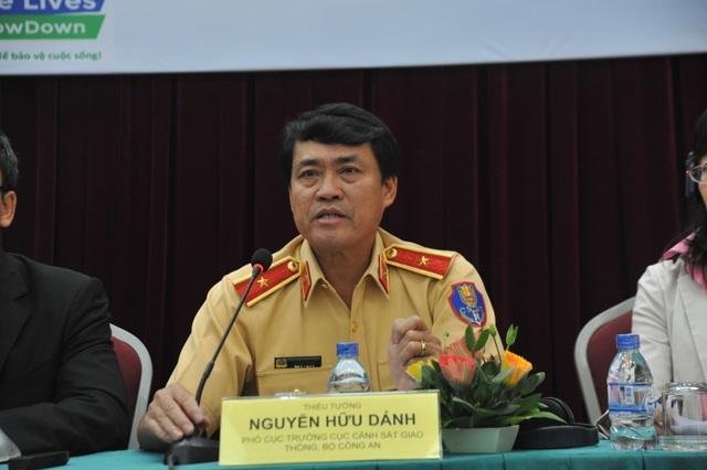 Thiếu tướng Nguyễn Hữu Dánh - Phó Cục trưởng Cục CSGT, Bộ Công an
