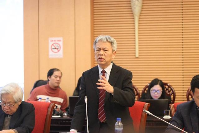 TS Nguyễn Sĩ Dũng yêu cầu phân biệt rạch ròi hai loại trường tư để có chính sách học phí công bằng (ảnh: Thanh Hùng)
