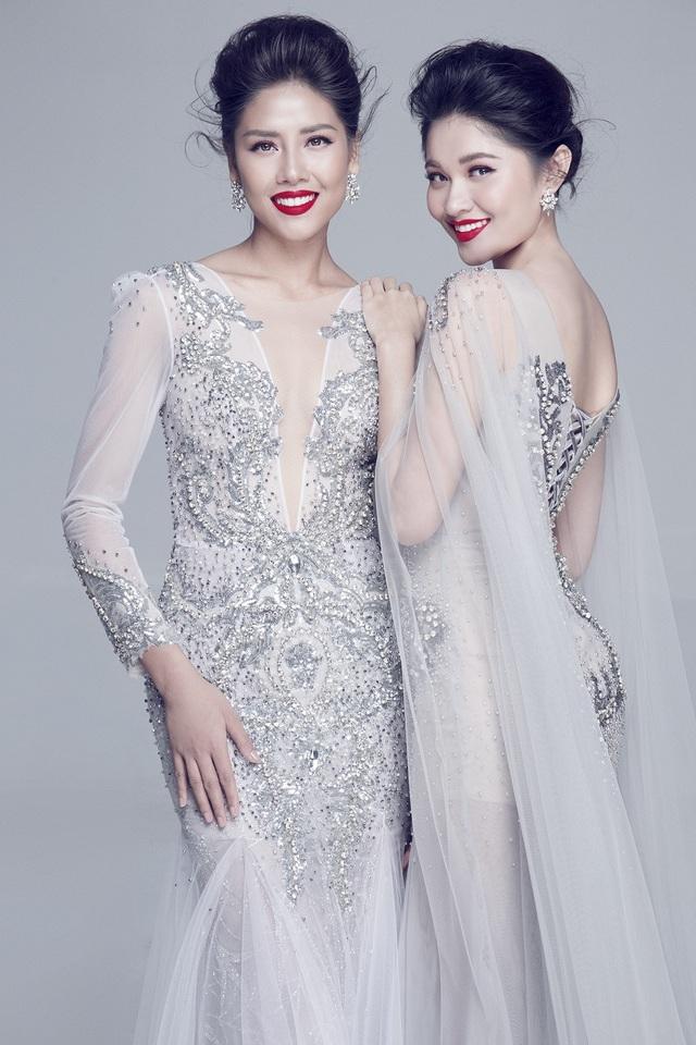 Bận thi Miss Universe, Nguyễn Thị Loan vẫn chúc Thuỳ Dung trước giờ G Miss International - 11