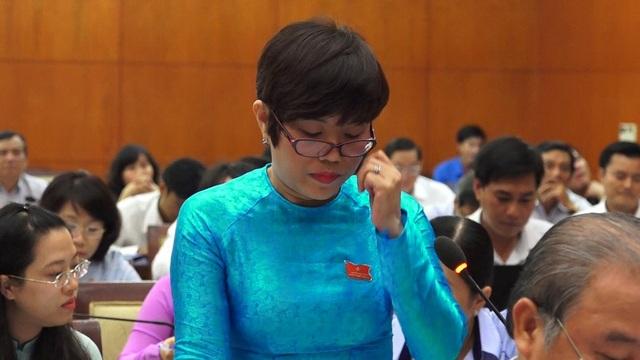 Đại biểu Nguyễn Thị Tố Trâm