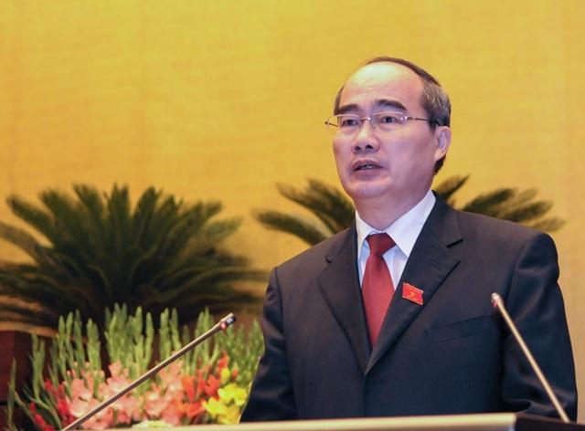 Tân Bí thư Thành ủy TPHCM Nguyễn Thiện Nhân.