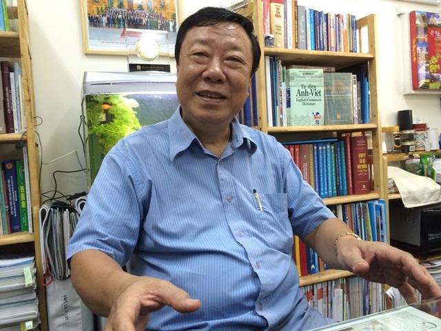 PGS – TSKH Nguyễn Trọng Hòa – nguyên Viện trưởng Viện Nghiên cứu và Phát triển TPHCM