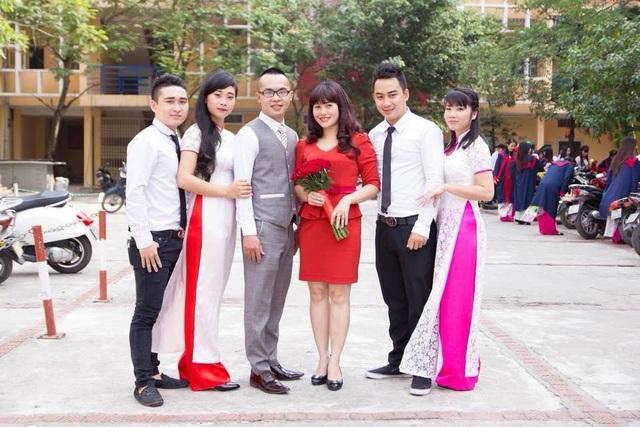 Nguyễn Trung Thành còn là một thầy giáo trẻ với cả một trái tim yêu nghề