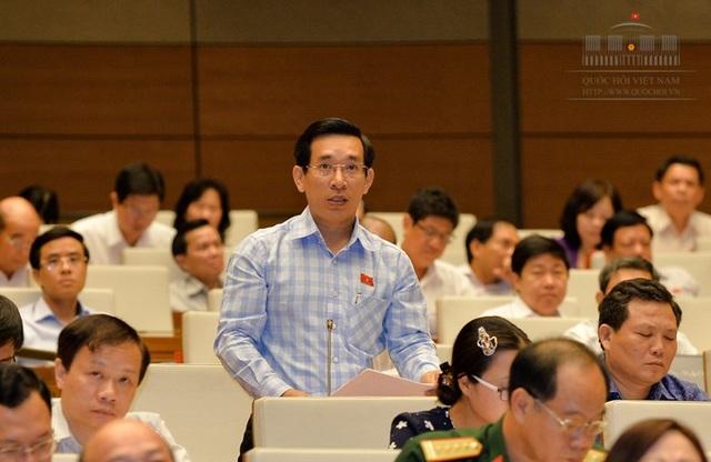 Đại biểu Nguyễn Văn Cảnh (Bình Định) khẳng định Nhà nước có thể thu được hàng nghìn tỷ đồng mỗi năm nhờ bán đấu giá biển số đẹp.