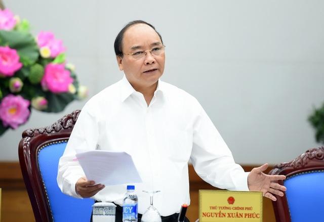 Thủ tướng Nguyễn Xuân Phúc (Ảnh: VGP/Quang Hiếu)