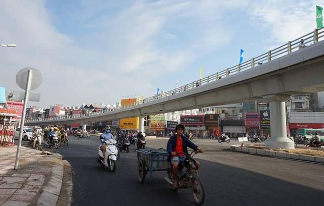 Có cầu vượt, giao thông qua khu vực này thông thoáng hơn