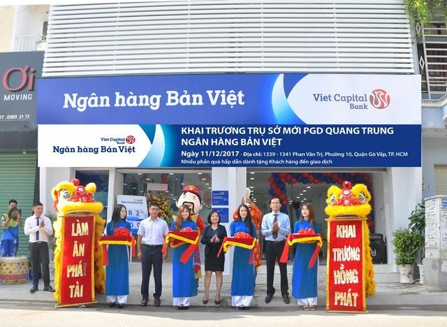 Ngân hàng Bản Việt -  Phòng giao dịch Quang Trung Khai trương trụ sở mới - 1