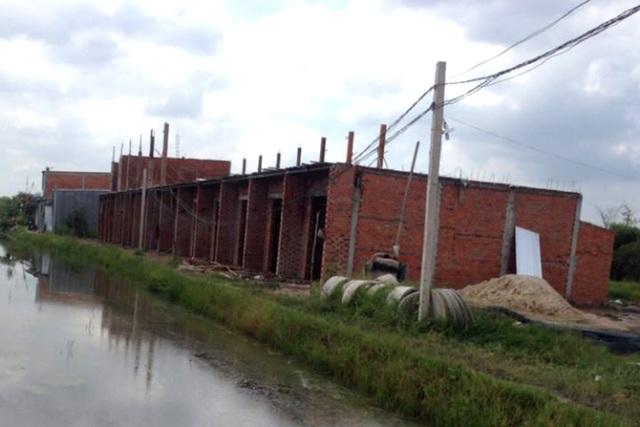 Công trình sai phạm mọc lên hàng loạt nhưng chính quyền địa phương không biết.