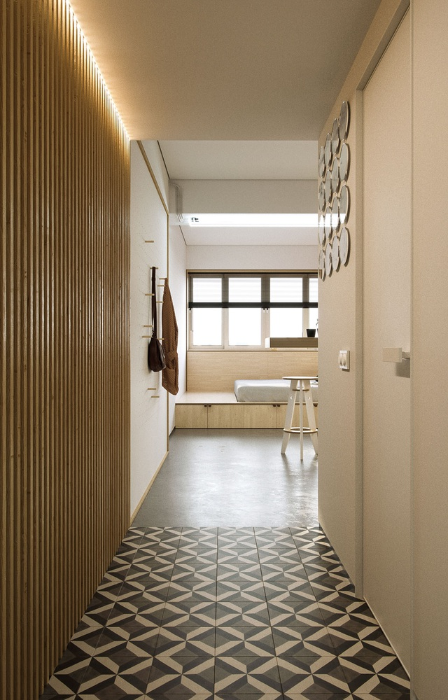 """Chiêm ngưỡng căn hộ siêu nhỏ với thiết kế """"đẹp miễn chê"""" - 1"""