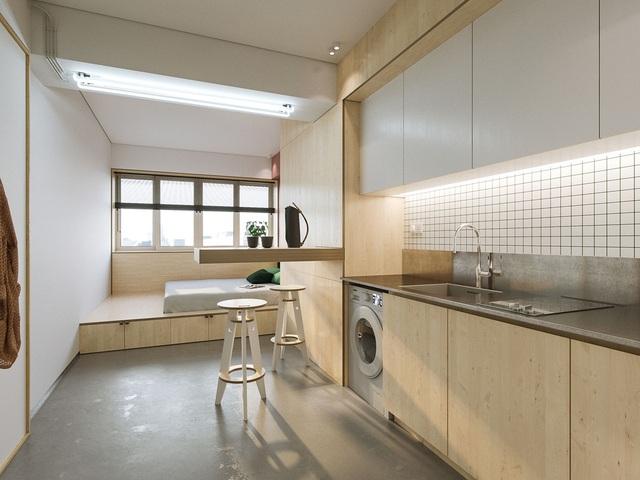 """Chiêm ngưỡng căn hộ siêu nhỏ với thiết kế """"đẹp miễn chê"""" - 3"""