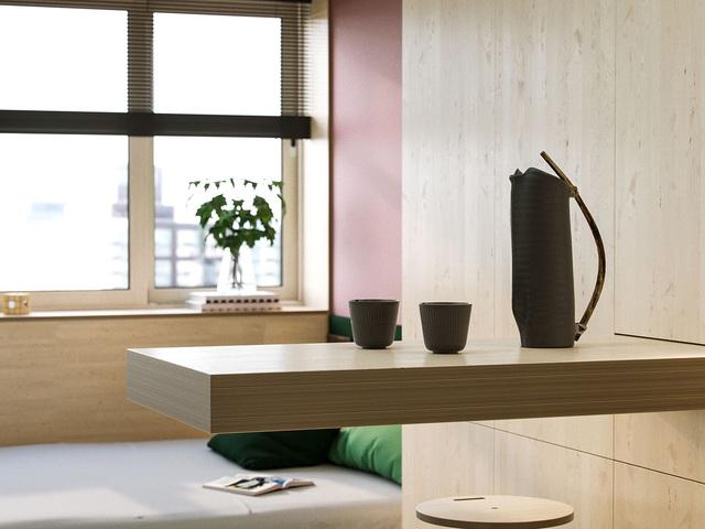 """Chiêm ngưỡng căn hộ siêu nhỏ với thiết kế """"đẹp miễn chê"""" - 5"""