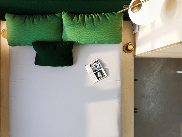 """Chiêm ngưỡng căn hộ siêu nhỏ với thiết kế """"đẹp miễn chê"""" - 6"""