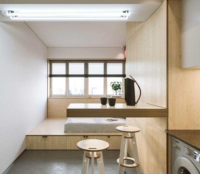 """Chiêm ngưỡng căn hộ siêu nhỏ với thiết kế """"đẹp miễn chê"""" - 7"""