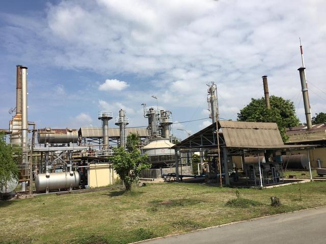 Một góc Nhà máy lọc dầu Cát Lái (Tp.HCM)