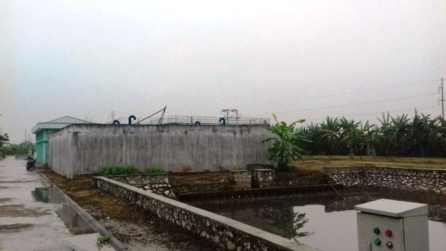 Nhà máy cấp nước sạch đóng tại xã Đồng Du với công suất 4.500m3 mỗi ngày đêm có tổng kinh phí hơn 90 tỷ đồng