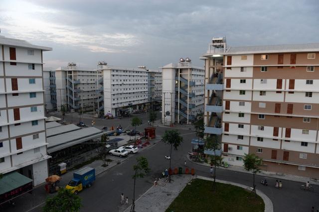 Khu nhà ở xã hội Hòa Lợi ( thành phố TDM, Bình Dương) sau 2 năm có khoảng 10.000 hộ dân sinh sống.