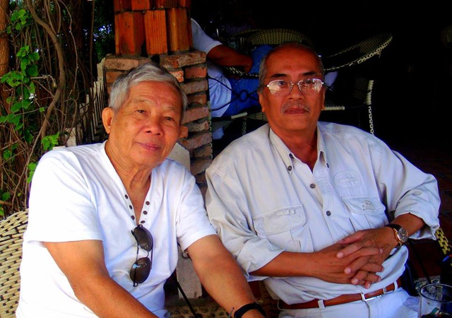 Hình ảnh nhà văn Nguyễn Quang Thân (t khi còn sinh thời, dù đã bước sang tuổi 80 nhưng ông vẫn khỏe mạnh