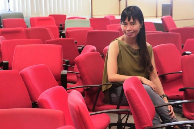 Nhà văn Trang Hạ.