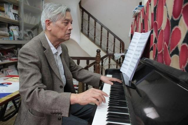 Tiến sĩ, nhạc sĩ Doãn Nho được trao tặng giải thưởng Hồ Chí Minh về Văn học nghệ thuật đợt này. Ảnh: DN.