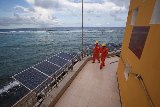 Việc cung cấp điện trên quần đảo Hoàng Sa và nhà giàn DK1 sẽ được thực hiện tốt hơn khi bàn giao cho EVN