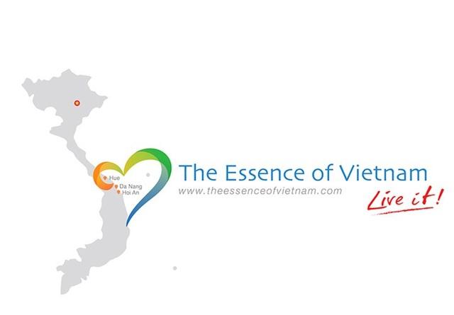 Bộ nhận diện Tinh hoa Việt Nam gồm một tập hợp các yếu tố giúp người xem dễ dàng định dạng được thương hiệu cho 3 tỉnh miền Trung.