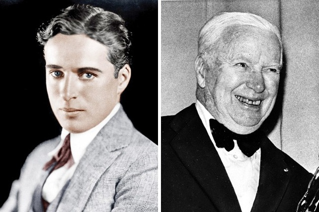 Bạn có cảm thấy bất ngờ với hình ảnh của ông vua hài kịch Charlie Chaplin khi về già?