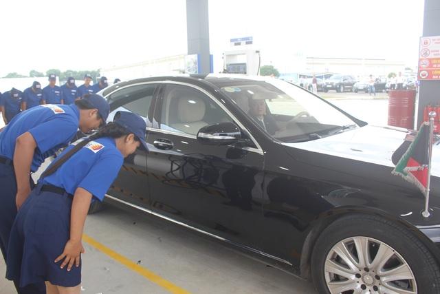 Hà Nội có trạm xăng đầu tiên do doanh nghiệp Nhật Bản đầu tư. Ảnh: Hồng Vân