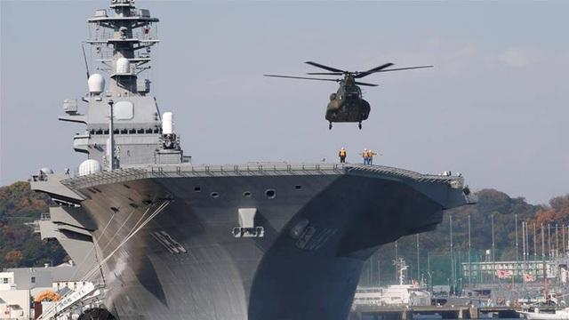 Tàu sân bay Izumo của Nhật Bản (Reuters)