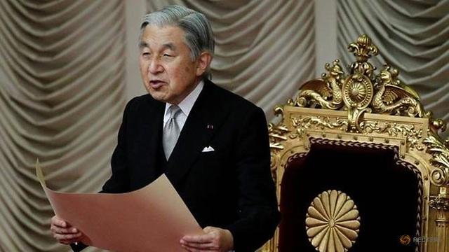 Nhật Hoàng Akihito (Ảnh: Reuters)