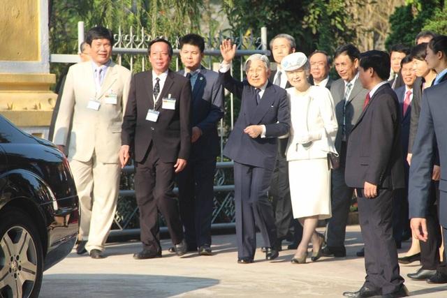 Nhật hoàng và Hoàng hậu kết thúc chuyến thăm di tích lưu niệm Phan Bội Châu