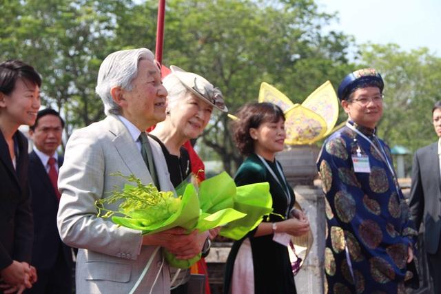 Toàn cảnh Nhật hoàng thăm Hoàng Cung còn lại duy nhất ở Việt Nam - 7